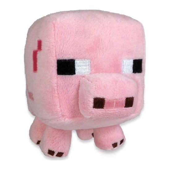 "MINECRAFT Baby Pig Plush Toy - 8"", Pink"