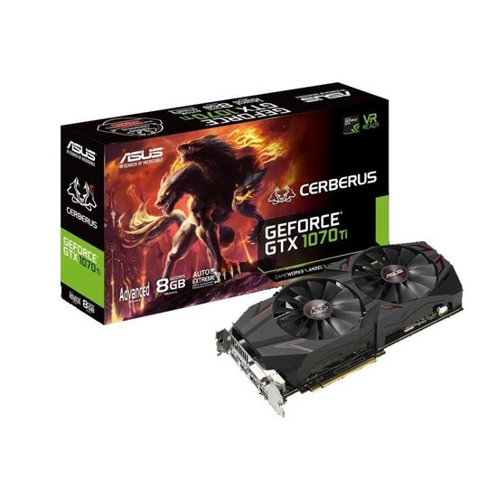Asus Cerberus GTX 1070 TI 8GB GDDR5 Graphics Card