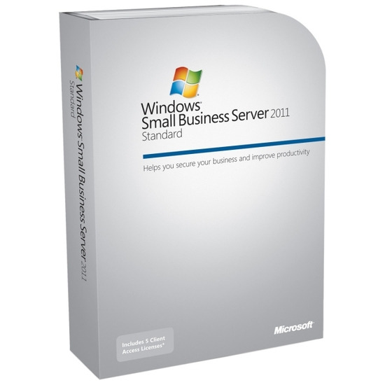 Microsoft Windows Small Business Server 2011 Standard - Licence and Media