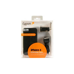 Photo of Cygnett Essential Pack For iPhone 4 Mobile Phone Accessory
