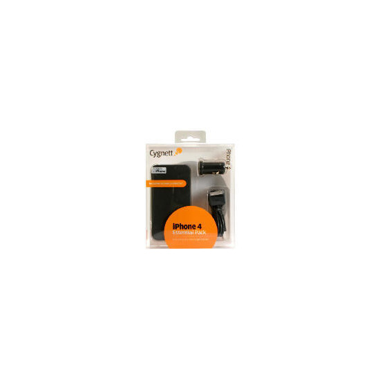 Cygnett Essential Pack for iPhone 4
