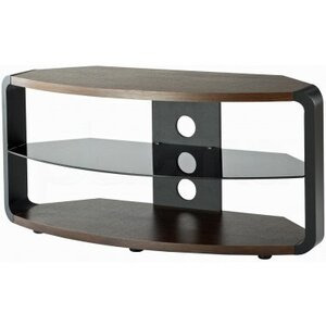 Photo of Alphason Cordoba Walnut and Black TV Stand TV Stands and Mount