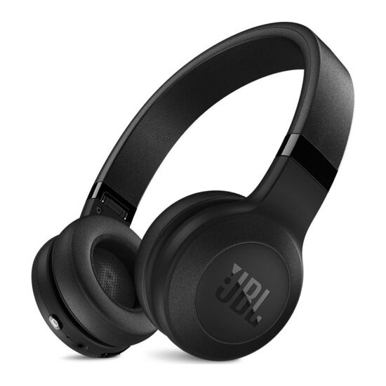 JBL C45BT Wireless Bluetooth Headphones - Black