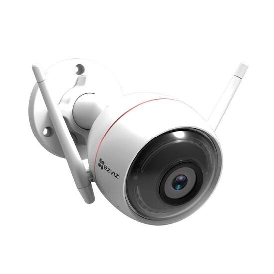 EZVIZ Full HD Outdoor Smart Security Cam with Siren & Strobe Light