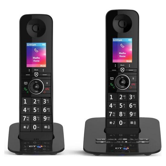 BT Premium 090631 Cordless Phone - Twin Handsets