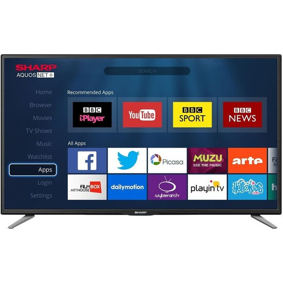Sharp LC-32CFE6131E 32 Full HD 1080p Smart D-LED TV