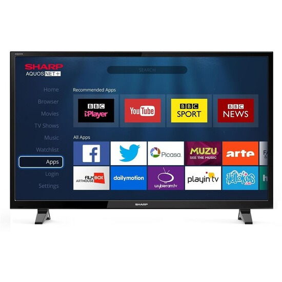 Sharp LC-43CFF6002E 43 Full HD 1080p Smart D-LED TV