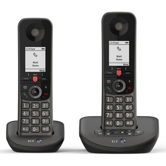 BT Advanced 1Z Cordless Phone - Twin Handsets