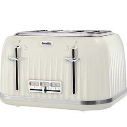 Breville Impressions VTT702 4-Slice Toaster - Vanilla Cream Reviews