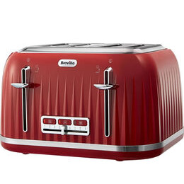 Breville Impressions VTT783 4-Slice Toaster - Venetian Red Reviews