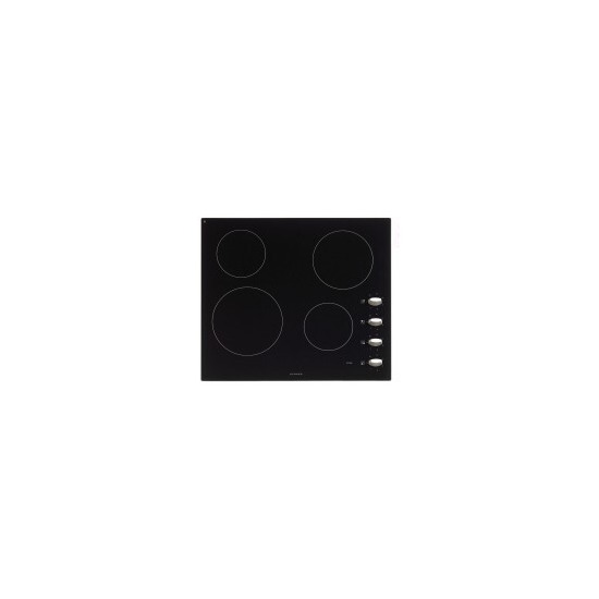 Stoves SEH600CRVGNT 60sm Built-In Electric Ceramic Hob with4 Cooking Zones and Rotar