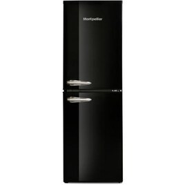 Montpellier MAB148K Retro Style 50-50 Freestanding Fridge Freezer - Black Reviews