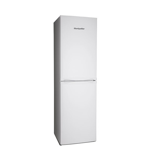 Montpellier MS183W/S Static 50/50 Fridge Freezer
