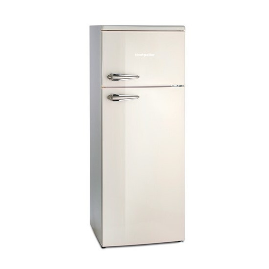 Montpellier MAB144C Retro Top Mount Fridge Freezer