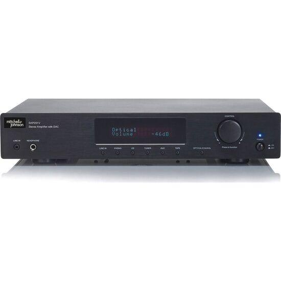 M&J SAP-201V Stereo Amplifier - Black