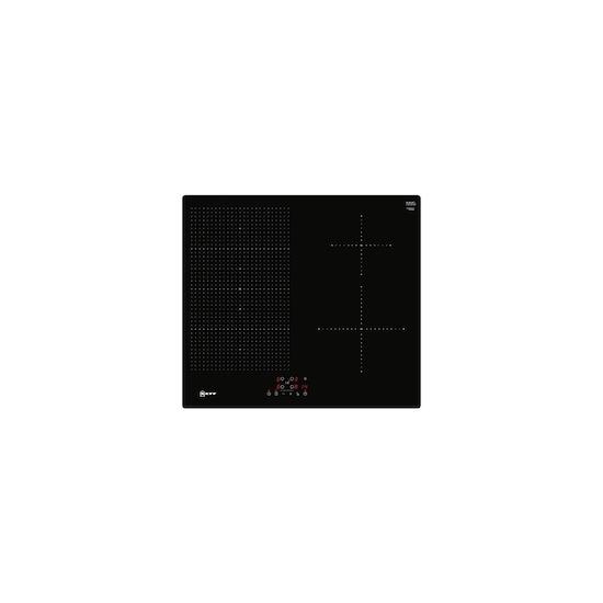 Neff T56UB50X0 Black glass 4 zone induction hob