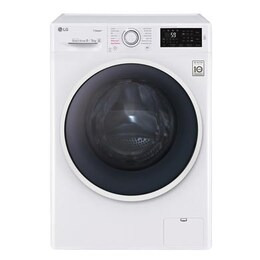 LG F4J6VG0W 9kg Wash 5kg Dry Freestanding Direct Drive Washer Dryer With Steam Reviews