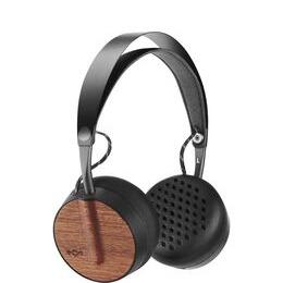 House of Marley Buffalo Soldier Wireless Bluetooth Headphones - Black