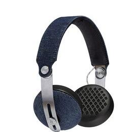 House of Marley Rise BT Wireless Bluetooth Headphones - Denim