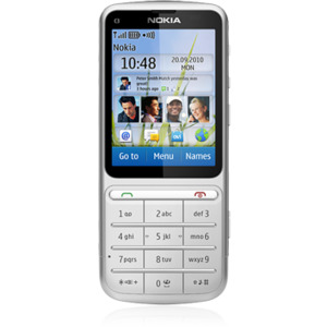 Photo of Nokia C3-01 Touch and Type Mobile Phone