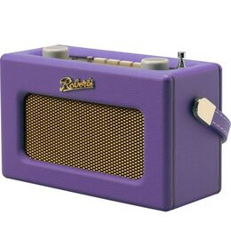 Roberts Revival Uno Retro Portable Clock Radio - Purple Haze Reviews