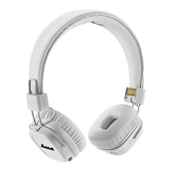 MARSHALL Major II Wireless Bluetooth Headphones - White