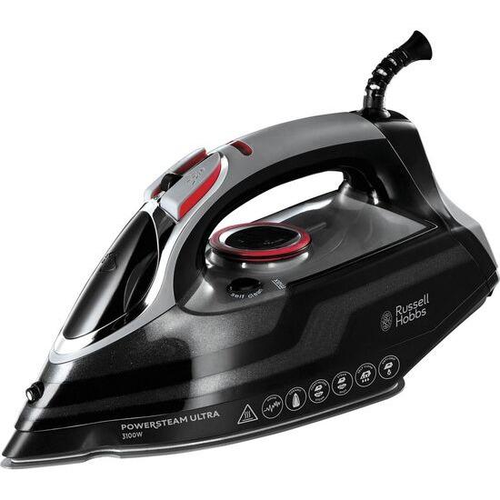 Russell Hobbs PowerSteam Ultra N20630 Steam Iron - Black & Red