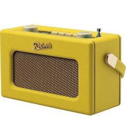 ROBERTS Revival Uno Retro Portable Clock Radio - Yellow