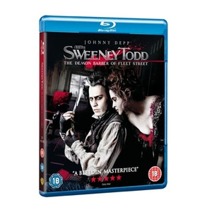 Photo of Sweeney Todd: The Demon Barber Of Fleet Street Blu-Ray DVDs HD DVDs and Blu Ray Disc