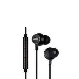 Veho Z-3 In-Ear Stereo Headphones with Built-in Microphone & Remote Control