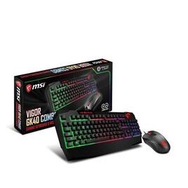 MSI Vigor GK40 Keyboard Mice Combo UK Reviews