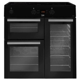 Beko BDVI90K Electric Double Oven Range Cooker with Induction Hob Reviews