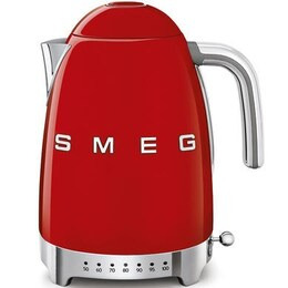 SMEG 50's Retro Style KLF04RDUK Jug Kettle - Red