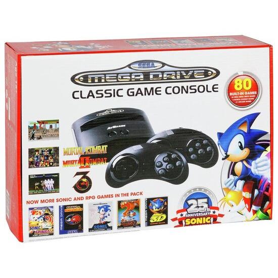 Sega Mega Drive With 80 Built-In Games
