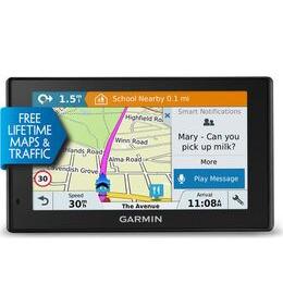 Garmin DriveSmart 50LMT-D 5 Sat Nav - UK & ROI Maps Reviews