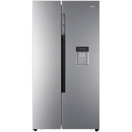 Haier HRF-522WM6 American Style Side-by-side Fridge Freezer With Non-plumbed Water Dispenser - Silver Reviews