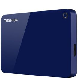 Toshiba Canvio Advanced HDTC920EL3AA Portable Hard Drive - 2 TB, Blue Reviews