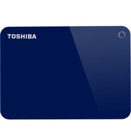 Toshiba Canvio Advanced Portable Hard Drive - 1 TB, Blue Reviews