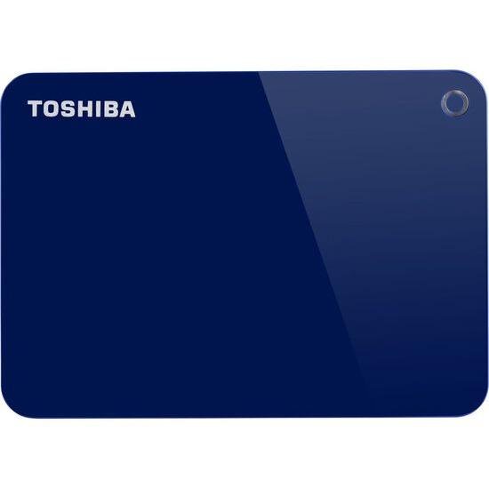 Toshiba Canvio Advanced Portable Hard Drive - 1 TB, Blue