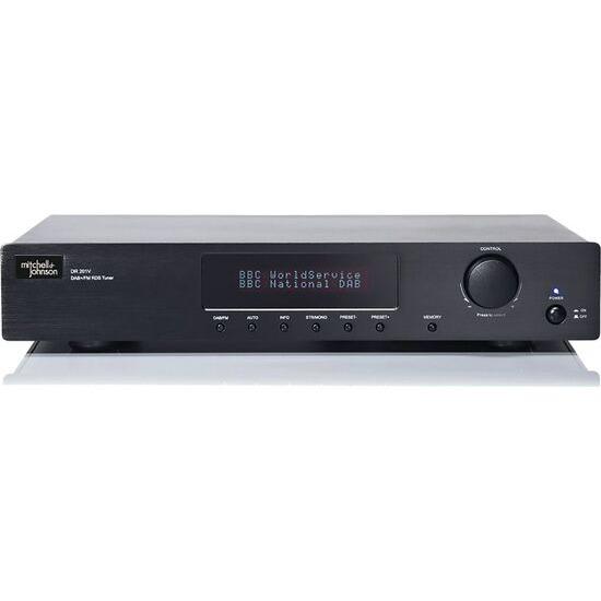 M&J DR-201VB Stereo DAB/FM Tuner - Black