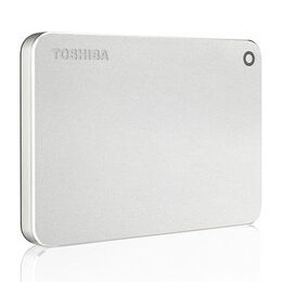 Toshiba Canvio Premium Mac Portable Hard Drive - 1 TB Metallic Silver Reviews