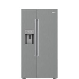 Beko Pro ASPM341PX American-Style Fridge Freezer - Brushed Steel Reviews