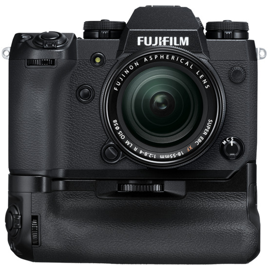 Fujifilm X-H1 with Battery Grip