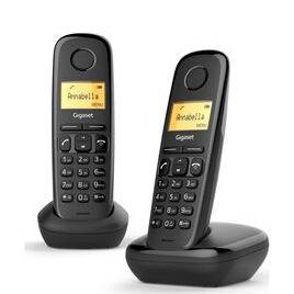 GIGASET A170 Cordless Phone - Twin Handsets Reviews