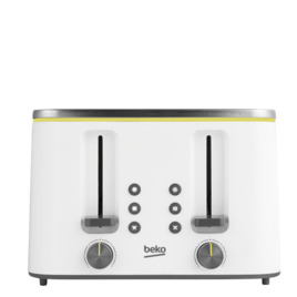 BEKO Cosmopolis TAM8402W 4-Slice Toaster - White Reviews