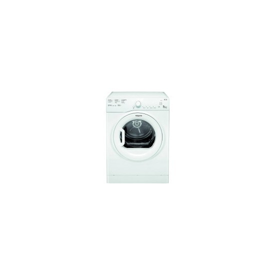 Hotpoint Aquarius TVFS 83B GP.9 Tumble Dryer - White