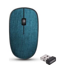 RAPOO 3510 Plus Wireless Optical Mouse - Blue