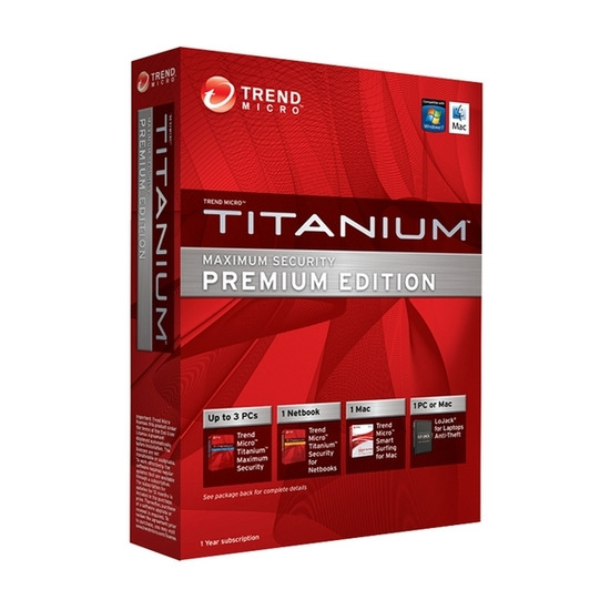 TRENDMICRO Titanium Maximum Security - Premium Edition