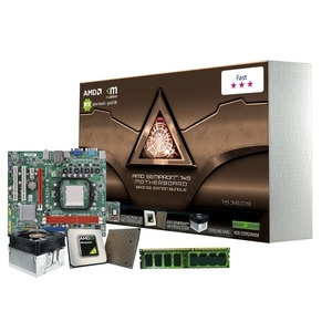 Photo of ECS ''/ AMD CPU and MICROATX Motherboard Bundle With 1GB Memory Motherboard