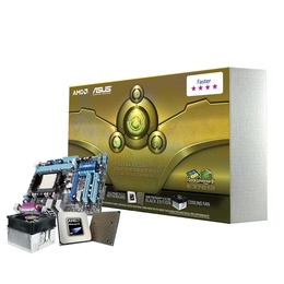 ASUS ''/ AMD CPU and microATX Motherboard Bundle with CPU Cooling Fan Reviews